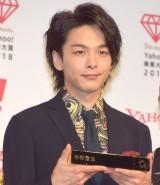 『Yahoo!検索大賞2018』の発表会に出席した中村倫也 (C)ORICON NewS inc.