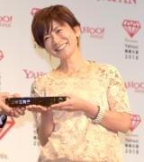 『Yahoo!検索大賞2018』の発表会に出席した小林由美子 (C)ORICON NewS inc.