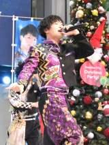 3rdシングル「がってん Shake!」の発売記念スペシャルイベントを行った祭nine.の清水天規 (C)ORICON NewS inc.