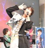 3rdシングル「がってん Shake!」の発売記念スペシャルイベントを行った祭nine.の浦上拓也 (C)ORICON NewS inc.