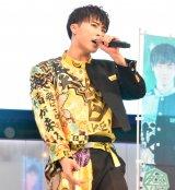 3rdシングル「がってん Shake!」の発売記念スペシャルイベントを行った祭nine.の野々田奏 (C)ORICON NewS inc.