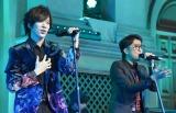 カバーアルバム『Deing』のリリース記念イベントを開催した(左から)DAIGO、池森秀一 (C)ORICON NewS inc.