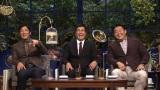 12月5日深夜放送『ザワつく!一茂良純時々ちさ子の会』(左から)長嶋一茂、石原良純、花田虎上(C)テレビ朝日