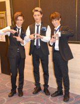 Snow Man(左から)阿部亮平、岩本照、渡辺翔太 (C)ORICON NewS inc.