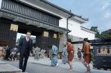 観光客が訪れる前の早朝に、世界遺産・二条城でロケを敢行(C)テレビ朝日