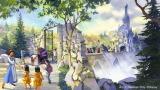 """大型アトラクションの名称は「美女と野獣""""魔法のものがたり""""」外観イメージ(C)Disney"""
