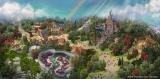 東京ディズニーランド 大規模開発の全景(C)Disney