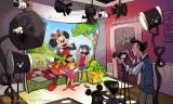 新キャラクターグリーティング施設の内観(C)Disney
