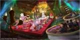 『美女と野獣』をテーマにした大型アトラクションの体験シーン(C)Disney