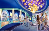 ポップコーンの専門ショップの内観(C)Disney