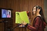 コナンのアフレコに挑戦した倉木麻衣(C)青山剛昌/小学館・読売テレビ・TMS 1996