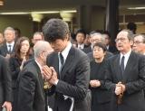 セントラル・アーツ黒澤満さん告別式に参列した仲村トオル (C)ORICON NewS inc.
