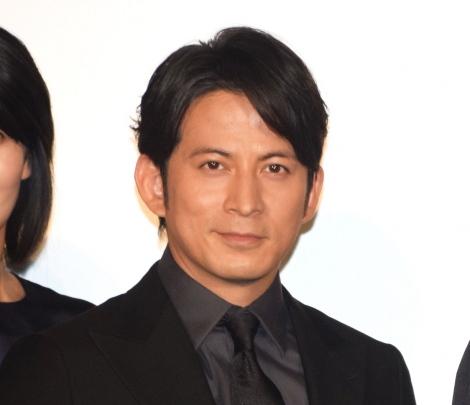 映画『来る』初日舞台あいさつに出席した岡田准一 (C)ORICON NewS inc.