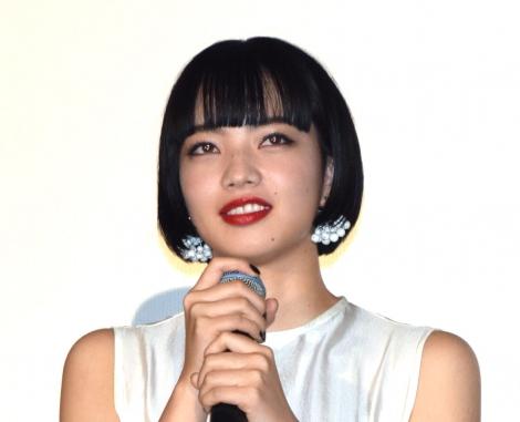 映画『来る』初日舞台あいさつに出席した小松菜奈 (C)ORICON NewS inc.