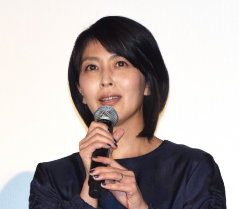 映画『来る』初日舞台あいさつに出席した松たか子 (C)ORICON NewS inc.