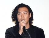 映画『来る』初日舞台あいさつに出席した青木崇高 (C)ORICON NewS inc.