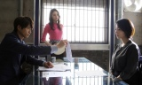 BSテレ東で放送中のドラマ『サイレント・ヴォイス行動心理捜査官・楯岡絵麻』第8話ゲストはMEGUMI(左)(C)「サイレント・ヴォイス」製作委員会2018