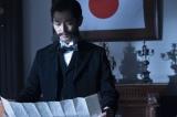 西郷(鈴木亮平)が立ったことに衝撃を受けた大久保(瑛太)たちは直ちに征討令を発する(C)NHK