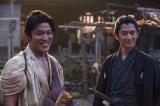 大河ドラマ『西郷どん』第2回より=鈴木亮平の吉之助と瑛太の正助が初登場(C)NHK