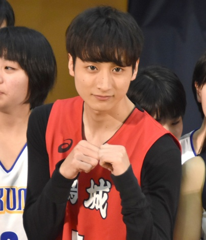 映画『春待つ僕ら』の女子バスケ部激励イベントに出席した小関裕太 (C)ORICON NewS inc.
