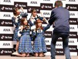 TikTokに挑戦するSKE48=『「SKE48」TikTokerデビューお披露目会』 (C)ORICON NewS inc.