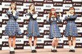 『「SKE48」TikTokerデビューお披露目会』に出席したSKE48 (C)ORICON NewS inc.