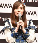 『「SKE48」TikTokerデビューお披露目会』に出席したSKE48・松井珠理奈 (C)ORICON NewS inc.