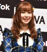 『「SKE48」TikTokerデビューお披露目会』に出席したSKE48・高柳明音 (C)ORICON NewS inc.