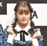 『「SKE48」TikTokerデビューお披露目会』に出席したSKE48・竹内彩姫 (C)ORICON NewS inc.
