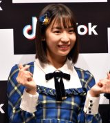 『「SKE48」TikTokerデビューお披露目会』に出席したSKE48・日高優月 (C)ORICON NewS inc.