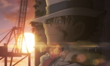 劇場版『名探偵コナン 紺青の拳』特報映像に登場する怪盗キッド(C)2019 青山剛昌/名探偵コナン製作委員会