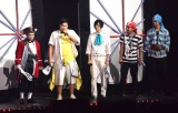 「YouTube FanFest」に出演したFischer's-フィッシャーズ- (C)ORICON NewS inc.