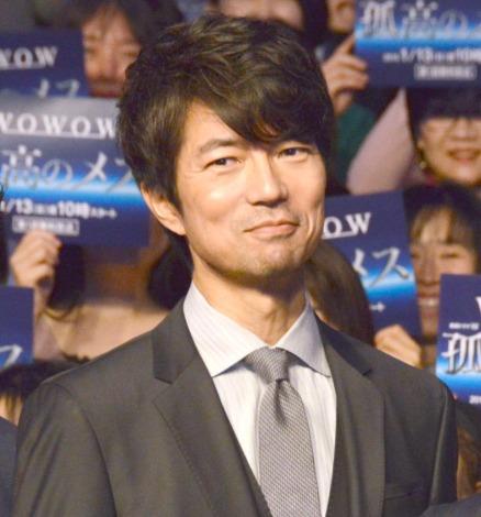『連続ドラマW 孤高のメス』完成披露試写会に出席した仲村トオル (C)ORICON NewS inc.