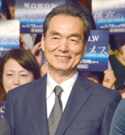 『連続ドラマW 孤高のメス』完成披露試写会に出席した長塚京三 (C)ORICON NewS inc.