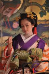 映画『花宵道中』で花魁の主人公を演じる安達祐実