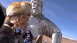 11月27日放送、テレビ朝日系バラエティーー『ソノサキ 〜知りたい見たいを大追跡!〜3時間SP』カリスマホスト・ローランドのモンゴルの旅に密着(C)テレビ朝日