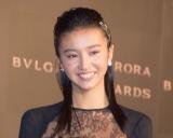 『BVLGARI AVRORA AWARDS 2018』ゴールデンカーペットセレモニーに登場したkoki, (C)ORICON NewS inc.