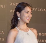 『BVLGARI AVRORA AWARDS 2018』ゴールデンカーペットセレモニーに登場した中村アン (C)ORICON NewS inc.