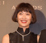 『BVLGARI AVRORA AWARDS 2018』ゴールデンカーペットセレモニーに登場した山田優 (C)ORICON NewS inc.