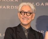『BVLGARI AVRORA AWARDS 2018』ゴールデンカーペットセレモニーに登場した坂本龍一 (C)ORICON NewS inc.