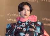 『BVLGARI AVRORA AWARDS 2018』ゴールデンカーペットセレモニーに登場した森星 (C)ORICON NewS inc.