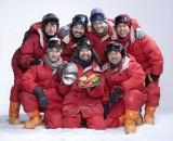 2019年1月12日スタート、『面白南極料理人』キービジュアル(C)ドラマ「面白南極料理人」製作委員会
