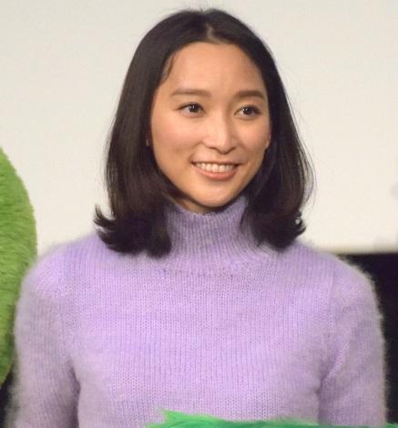 映画『グリンチ』の初日舞台あいさつに出席した杏 (C)ORICON NewS inc.
