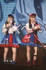 矢吹奈子&田中美久のなこみくコンビで「生意気リップス」=『HKT48コンサート〜今こそ団結!ガンガン行くぜ8年目!〜』 (C)ORICON NewS inc.