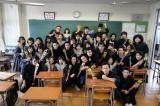 日曜ドラマ『今日から俺は!!』をクランクアップさせたクラスメイトの面々 (C)日本テレビ