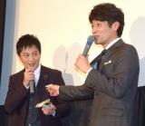 映画『輪違屋糸里〜京女たちの幕末〜』公開初日舞台あいさつに登壇した