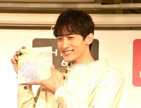 『小関裕太2019年カレンダー』発売記念イベントを行った小関裕太 (C)ORICON NewS inc.