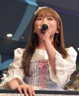 M24「いじわるチュー」をソロで歌った矢吹奈子=『HKT48コンサート〜今こそ団結!ガンガン行くぜ8年目!〜』 (C)ORICON NewS inc.