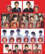 20年ぶりに復活するバラエティー番組『8時だJ』出演者の現在と当時写真 (C)テレビ朝日
