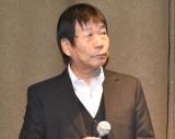 映画『おかあさんの被爆ピアノ』の製作発表会見に登壇した矢川光則氏 (C)ORICON NewS inc.